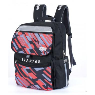 SPI護脊書包 黑 Starter 19 S