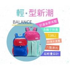 SPI護脊書包 湖水綠/桃紅 Balance A