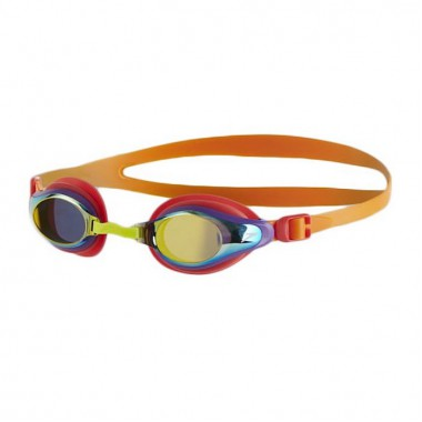 Speedo - Junior Mariner Supreme Mirror Goggle (Jaffa/Watermelon/Gold)