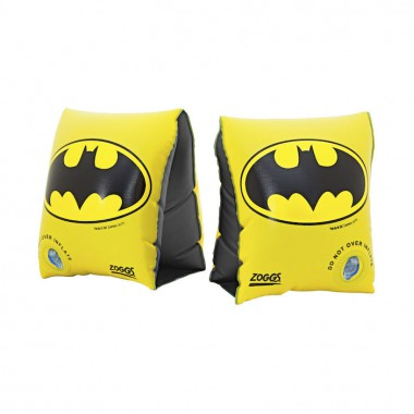 Zoggs - Batman Armbands (Black/Yellow)