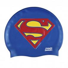 Zoggs - Superman Silicone Swim Cap (Blue/Red)