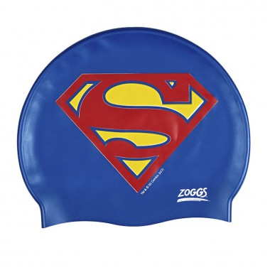 Zoggs - Superman Silicone Swim Cap (Blue/Red)
