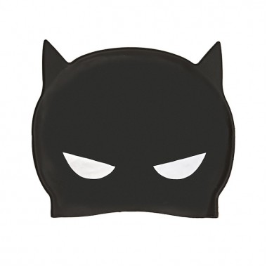 Zoggs - Batman 3D Silicone Swim Cap (Black/Yellow)