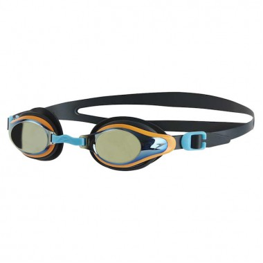 Speedo - Junior Mariner Supreme Mirror Goggle (Oxid Grey/Jaffa/Titanium)