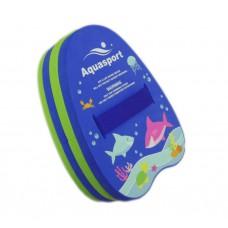 Aquasport - Back Float (Blue/Green)