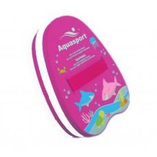 Aquasport - Back Float (Pink/White)