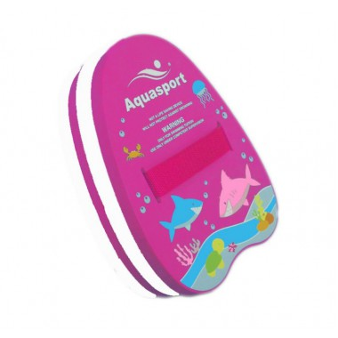 Aquasport - Back Float (Pink/White)