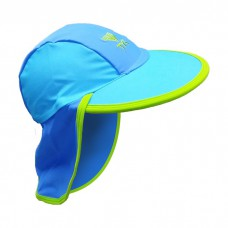 TYR - Child's Sun Protection Hat (Blue)