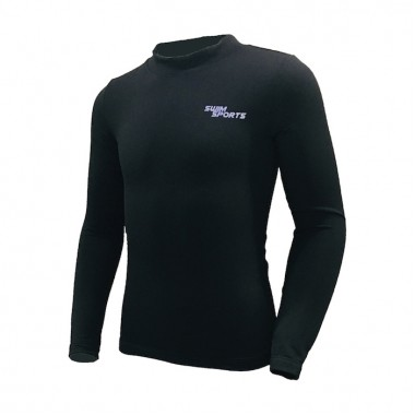 Swim Sports - 0.5mm Child's Thermal Fleece Top (Black)