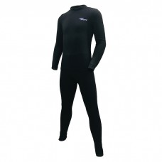 Swim Sports - 0.5mm Child's Thermal Fleece Top and Tight (Black)