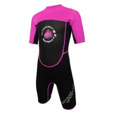 Water Sports - 3.0mm Child's High Stretch Thermal Suit (Pink)