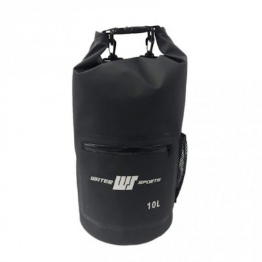 Water Sports - PVC Dry Bag 10 Liters ( Black)