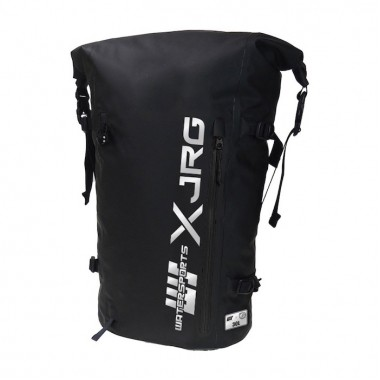 JR Gear × Water Sports - Waterproof Backpack 30 Liters (Black/Silver)