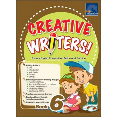 CREATIVE WRITERS BOOK 6