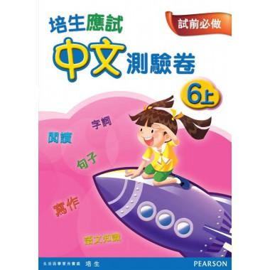 培生應試中文測驗卷六上