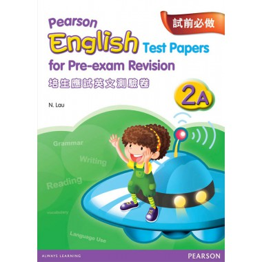 PEARSON ENG TEST PAPERS FOR PRE-EXAM REV 2A