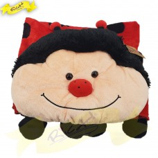 Color Rich - Animal Blanket - Ladybug