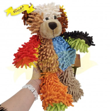 Color Rich - Colorful Patchwork Bear