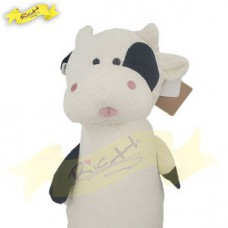 ColorRich - 66cm chenille knitted bolster cow