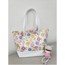 YLS Handmade Fabric Handbag (B002)