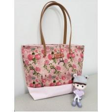 YLS Handmade Fabric Handbag (B004)