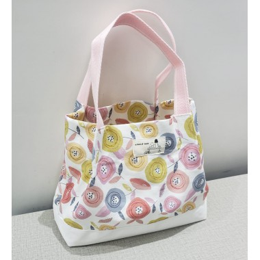 YLS Handmade Fabric Lunch Bag (L002)