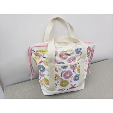 YLS Handmade Fabric Lunch Bag (L003)