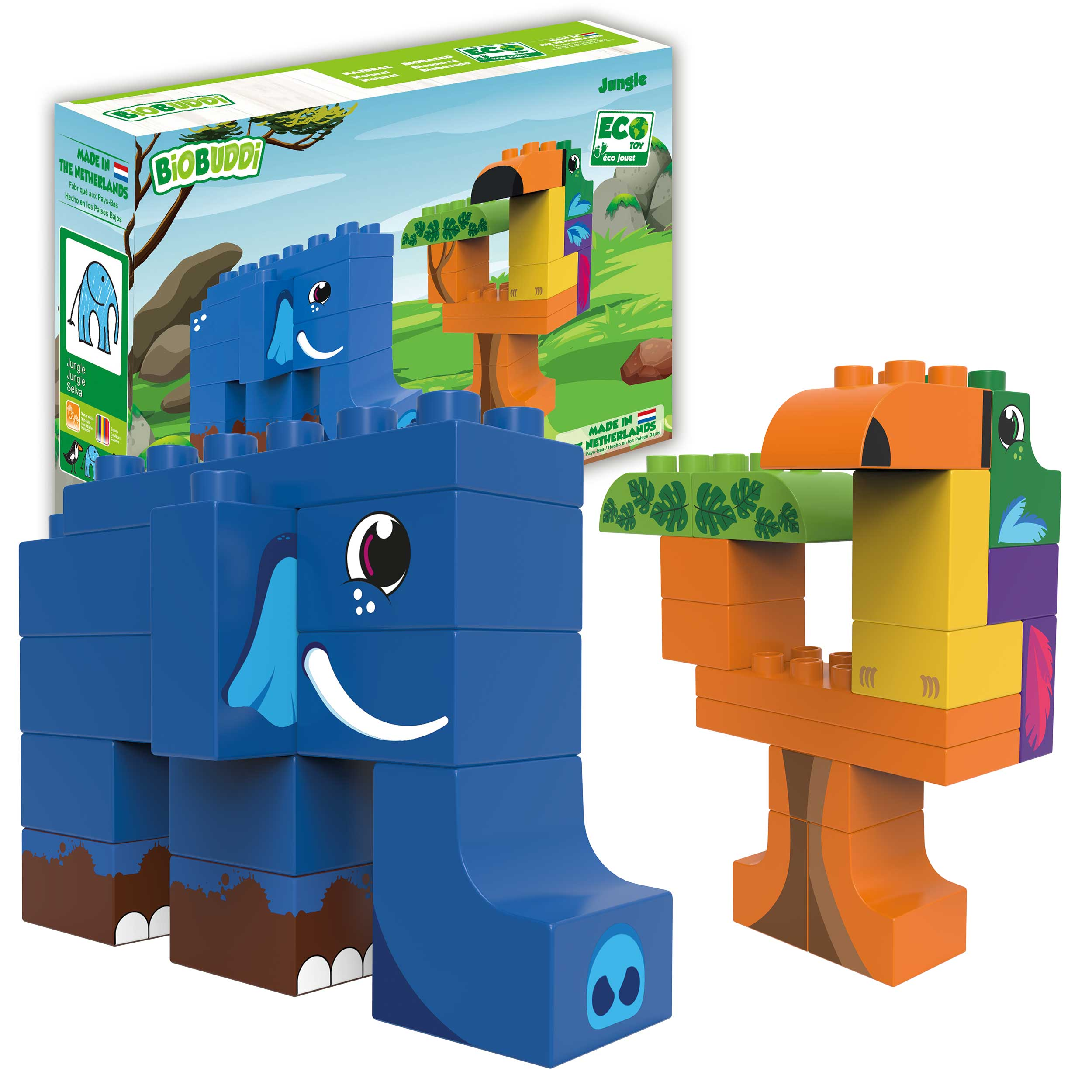 BiOBUDDi Jungle playset