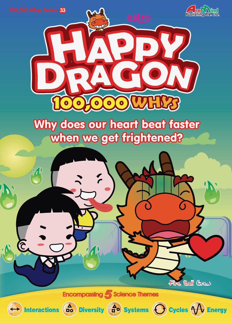 Happy Dragon #33 Why does our heart beat faster when we get frightened?