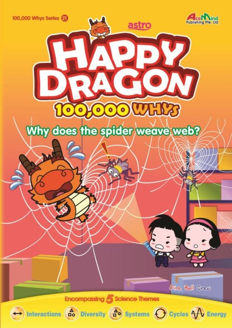 Happy Dragon #21 Why does the spider weave a web?