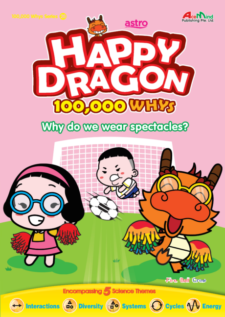 Happy Dragon #28 Why do we wear spectacles?