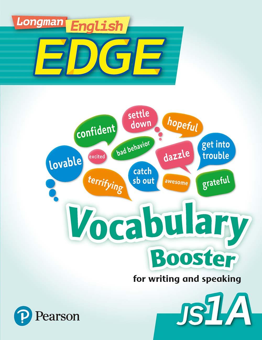 Longman English Edge JS1A Vocabulary Booster