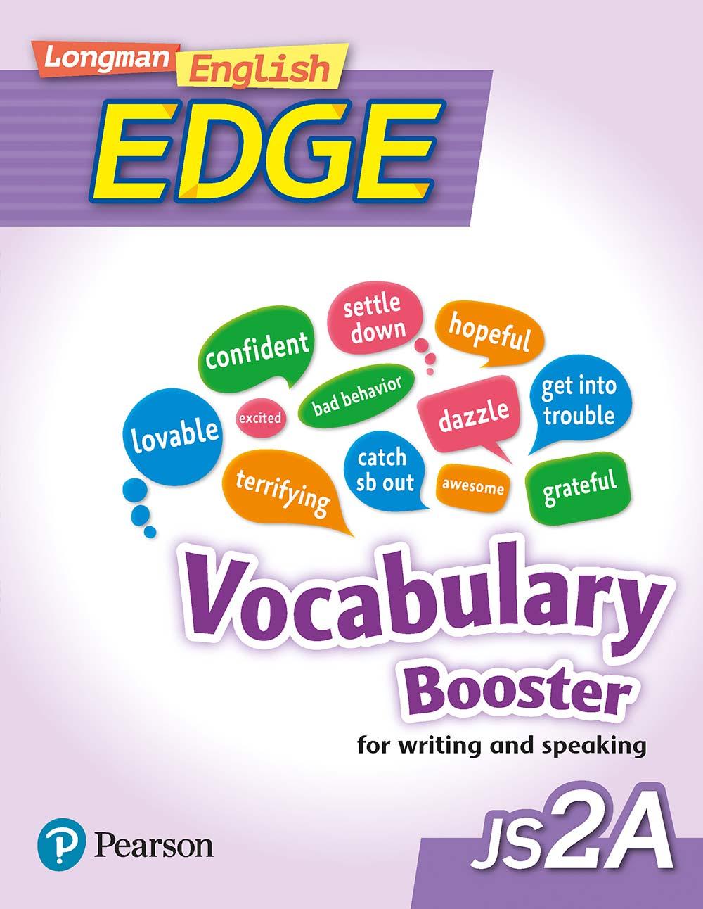Longman English Edge JS2A Vocabulary Booster