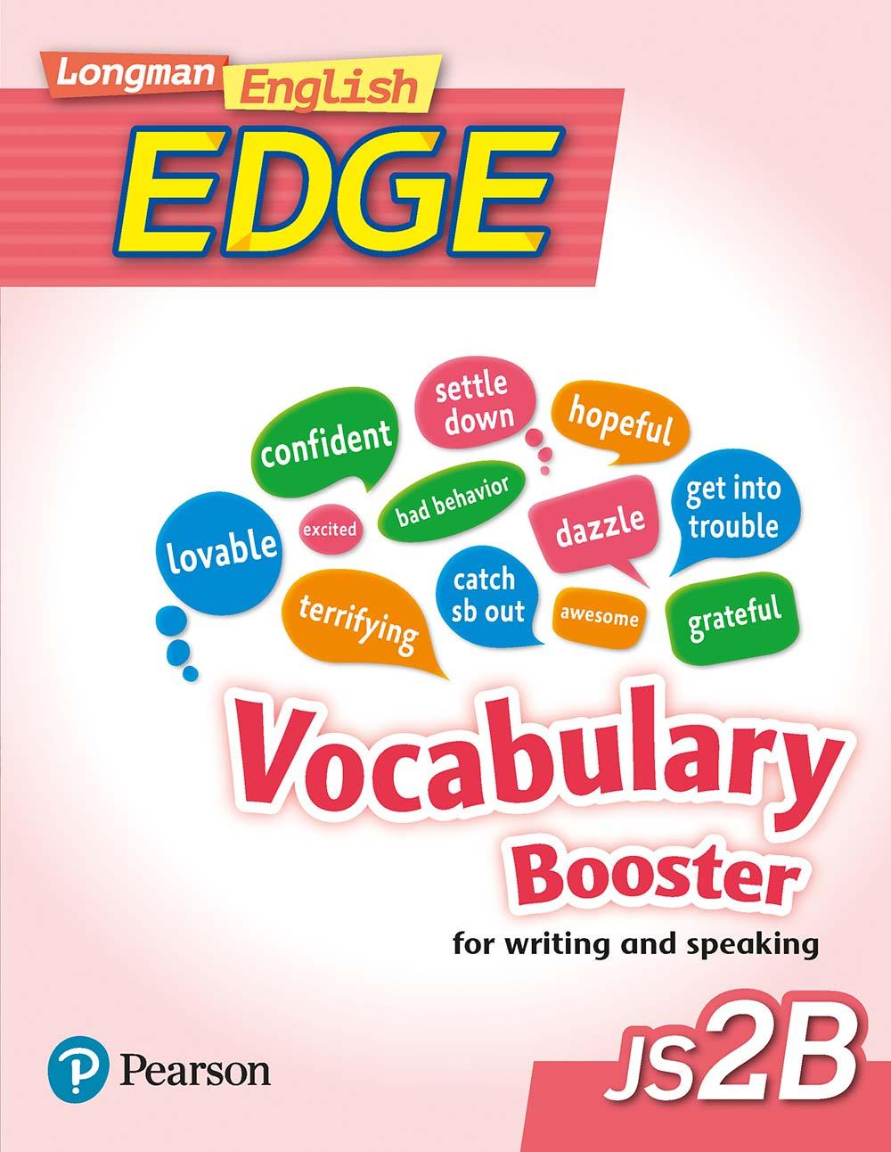 Longman English Edge JS2B Vocabulary Booster