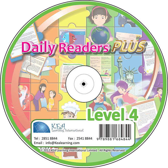 Daily Readers PLUS-CD Level 4