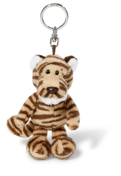NICI Barrick Striped Tiger Key Ring 10cm