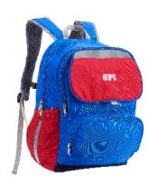 SPI護脊書包 藍/紅 Balance B