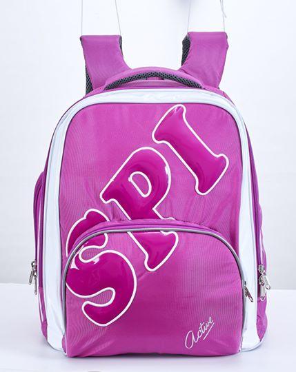 SPI護脊書包 紫 Active 19 L