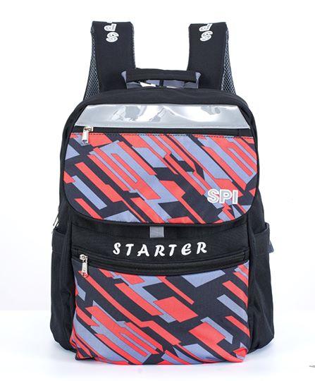 SPI護脊書包 黑 Starter 19 L