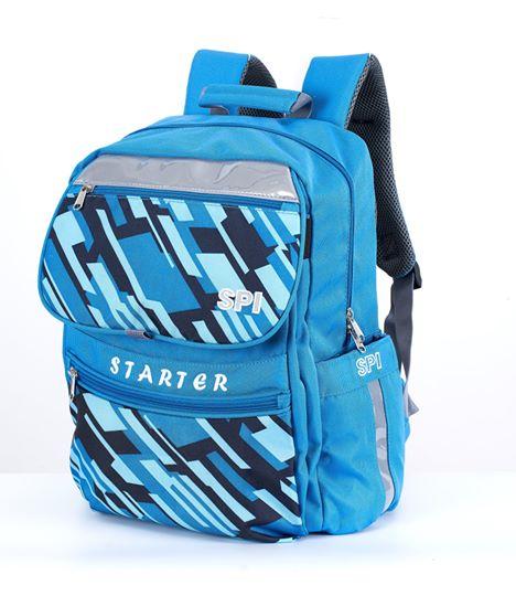SPI護脊書包 藍 Starter 19 S