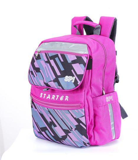 SPI護脊書包 粉紅 Starter 19 S