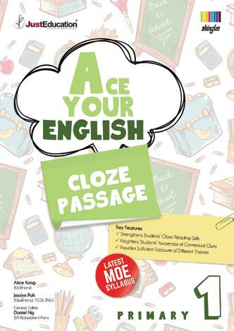 Ace Your English Cloze Passage - 1  Book
