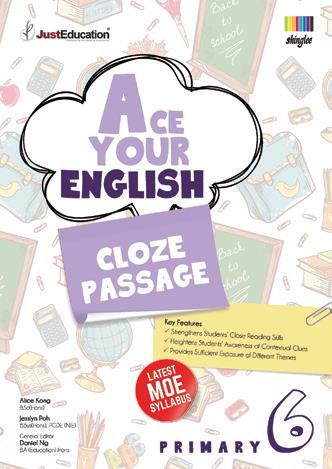 Ace Your English Cloze Passage- 6  Book