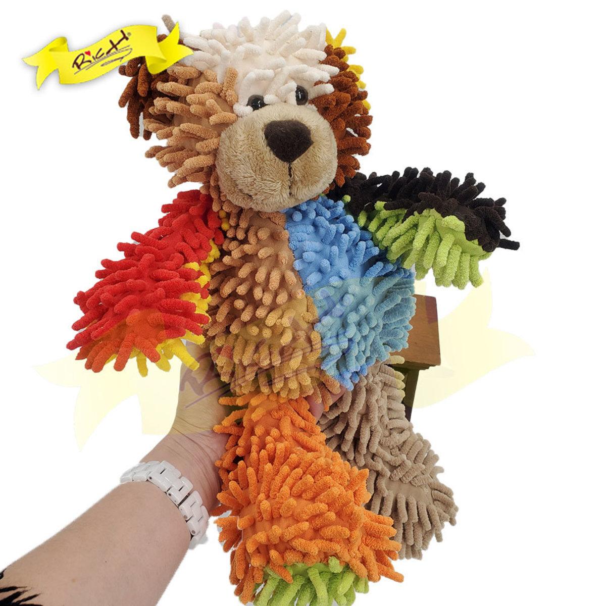 Color Rich - Colorful Patchwork Bear